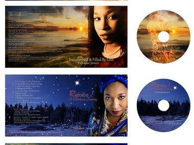 4 CD covers