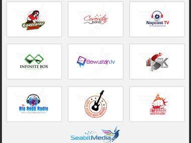 Entertainment Logo Design - Seabitmedia