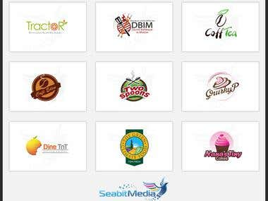 Food Logo Design - Seabitmedia