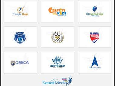 Education Logo Design - Seabitmedia