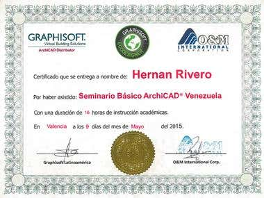 ArchiCAD Certificate