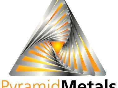 Pyramid Metals Logo Design