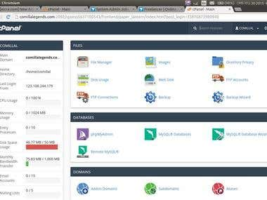 cPanel Administration