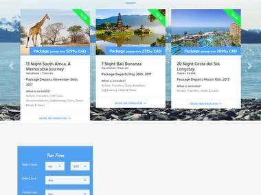 Cruise-xperts.com Wordpress Website Changes