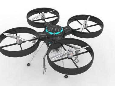 Big RC Quadcopter - Drone