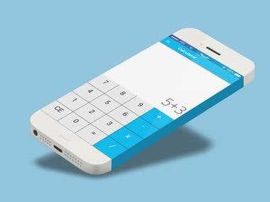 Ionic Simple Calculator