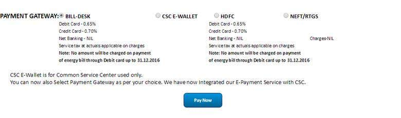 UHBVN - Haryana Electricity Bill Payment Online   Freelancer