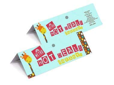 HEADER CARD PACKAGING