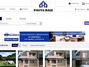 Sitio Web Inmobiliaria