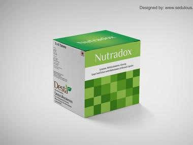 Package Designs for a Pharma company