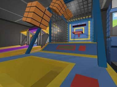 Develop a VR Basketball Maschine