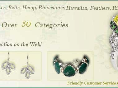Jewelry Website Banners
