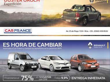 CAR FRANCE AUTOMOTORES