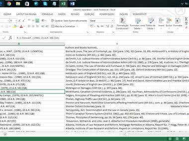 Data mining using Power Query