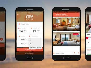 Hotel Android App