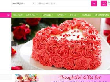 Prestashop :- http://flower4sure.com/
