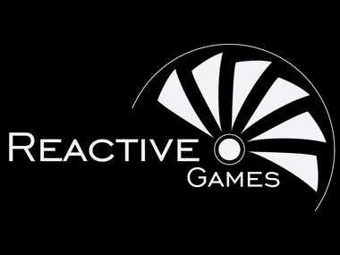 Reactive Games Logo Design
