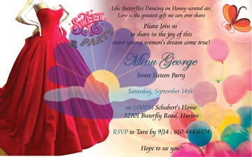 Invitation Cards Design
