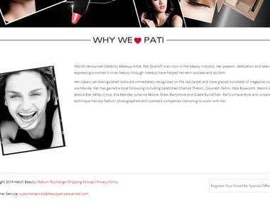 Beauty Most Wanted (Wordpress)