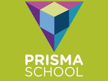 Rediseño de marca PRISMA SCHOOL