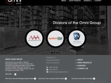 Omni Group(Wordpress work)