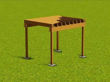 Storage Mezzanine Floor (Lumber)