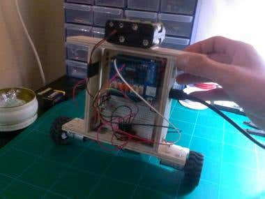 Self Balancing Robot using STM32F4 Discovery