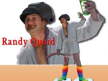 CARTOON_RANDY QUAID