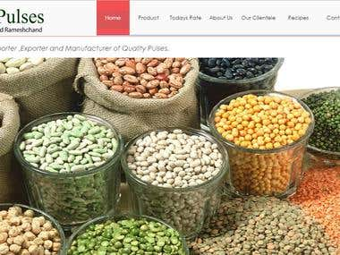 Pulses manufacture web based application