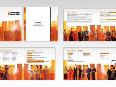 ARABIC / Bi-LINGUAL BROCHURE DESIGN