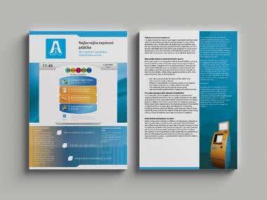 Various leaflet  design