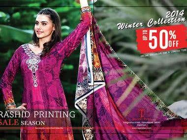 Rashid Textile Magazine Ad