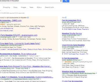 FirstRank in google with quality seo and linkbuilding.