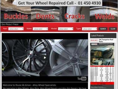 Alloy Wheels and Spare Parts Website