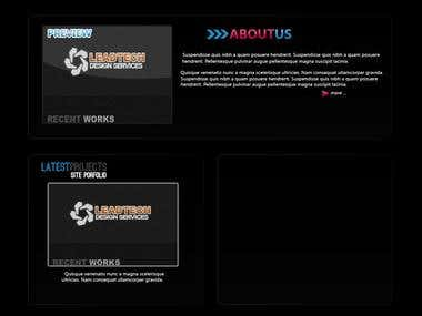 Creative Works Website (Working On Progress)