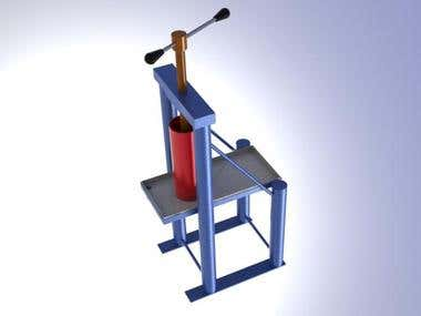 industrial machines done in solidworks