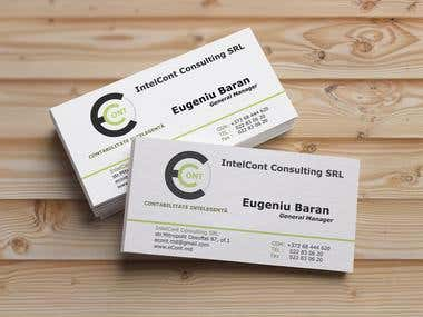 Business card Econt