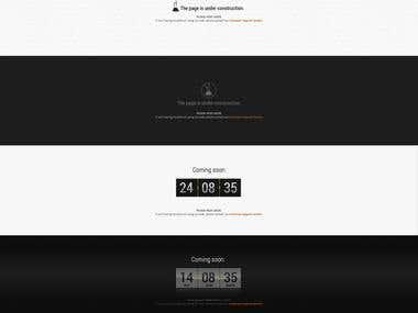 ShowMe web design template
