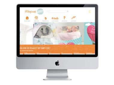 Página Web Ideas Mágicas