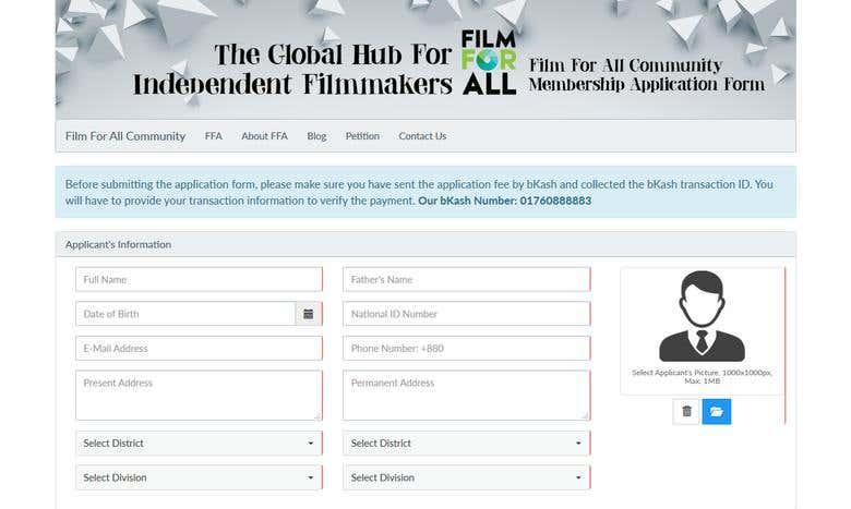 Film For All Community | Freelancer