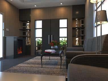 Interior Work Living Room