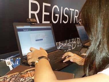 RFID SOCIAL REGISTRATION