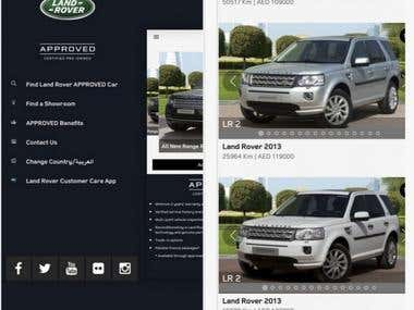 Land Rover ios app
