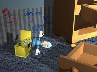 3D Maya Room