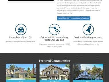 Real Estates Property website