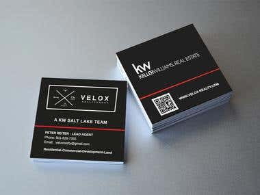 Logo + Business Cards for Real Estate Company