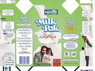Milk Pack Packaging Redesign