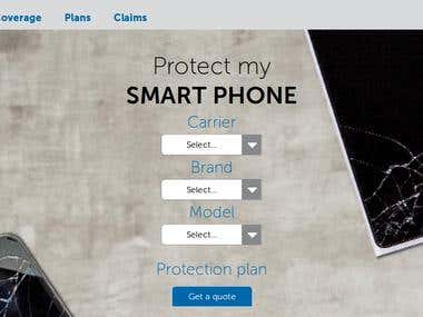 DYB: OpenCart Based Mobile Insurance and CRM Website