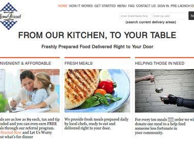 HomeBiscuit: Box Subscription Like Meal Website