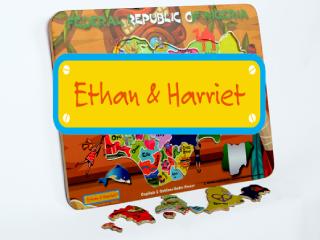 Ethan & Harriet(WordPress website)